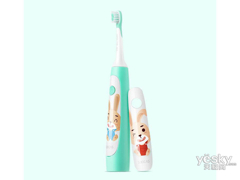 小米素士儿童声波电动牙刷