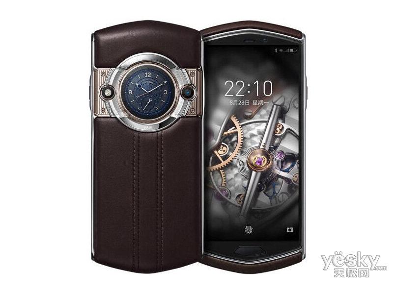 8848 钛金手机M5(私人订制牛皮款/256GB/全网通)