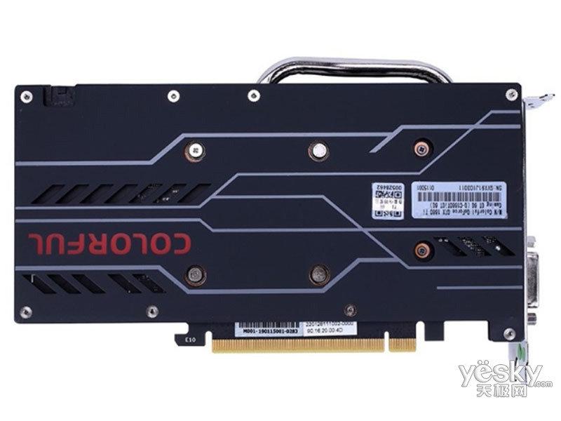 七彩虹Colorful GeForce GTX 1660Ti Gaming GT 6G