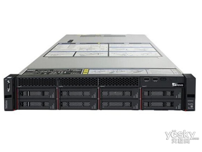 联想ThinkSystem SR650(Xeon 银牌4208/16GB/3TB)