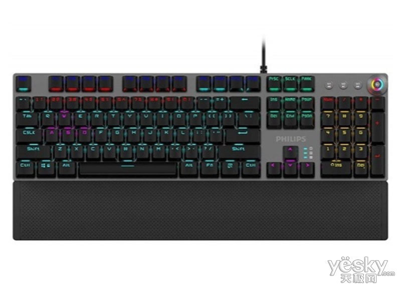 飞利浦SPK8614游戏机械键盘