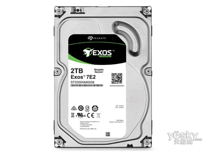 希捷银河Exos 7E2 2TB 128MB(ST2000NM008)