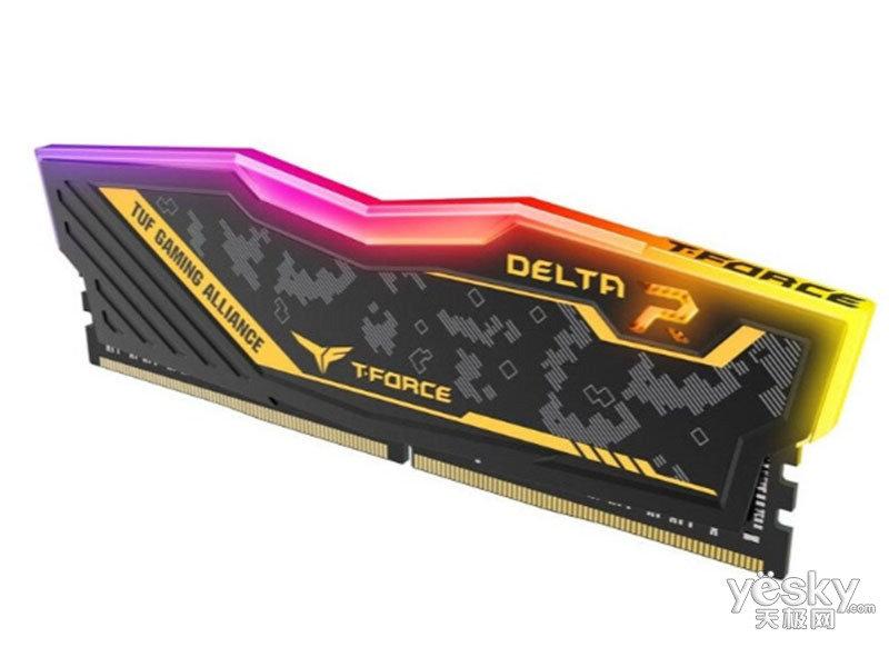 十铨科技炫光迷彩系列 16GB DDR4 3200