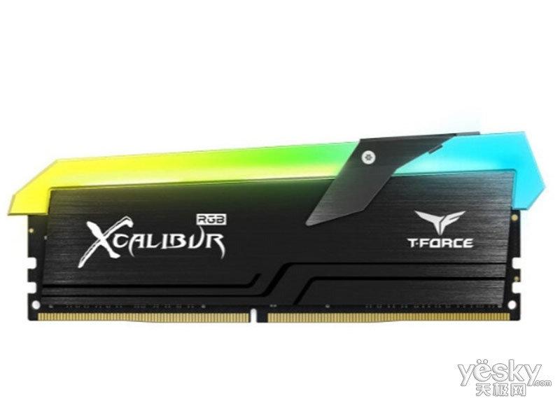 十铨科技王者之剑 16GB(8G×2) DDR4 4000