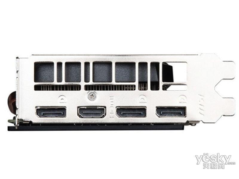 微星GeForce RTX 2060 DUKE 6G 暗黑龙爵