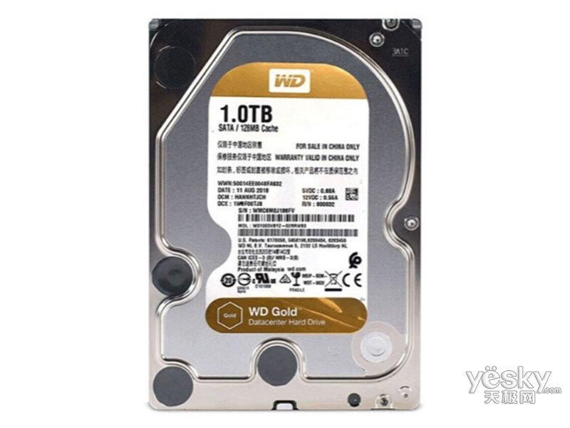 西部数据新金盘 1TB SATA6Gb/s 128M(WD1005VBYZ)