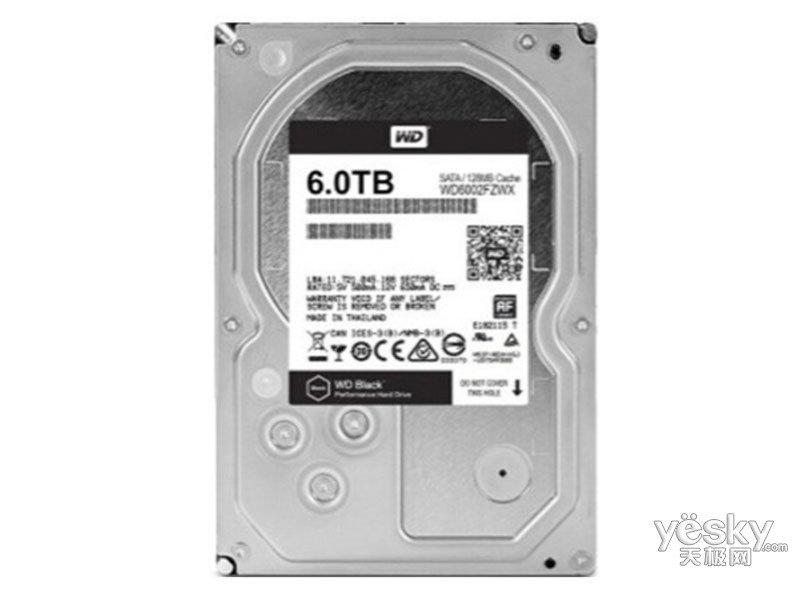 西部数据黑盘 6TB SATA3.0 256M(WD6003FZBX)