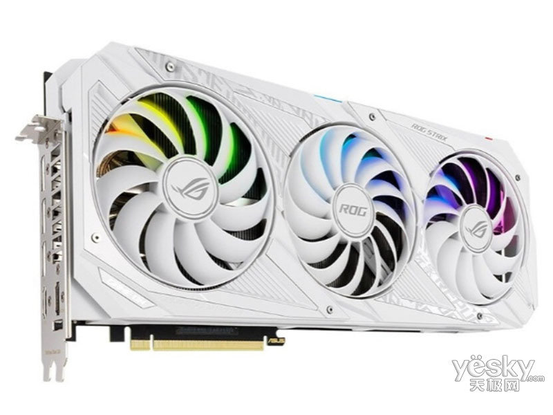华硕ROG-STRIX-RTX3090-24G-WHITE