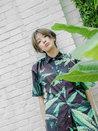 李萌萌盐系写真曝光 短发造型清爽利落-中国女明星